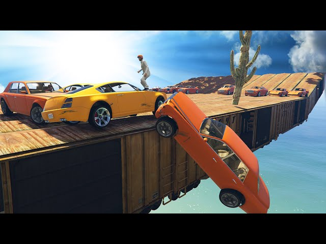 EXTREME CAR FIGHT MAPS! (GTA 5 Funny Moments)