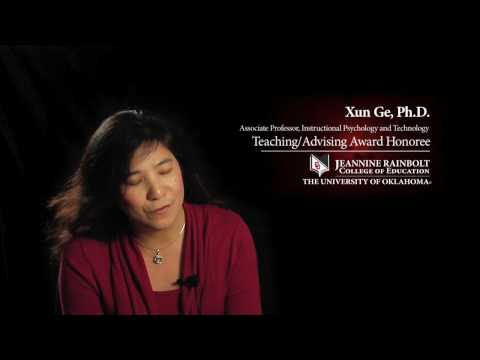 Xun Ge, Ph.D. - 2010 Teaching/Advising Award Honoree