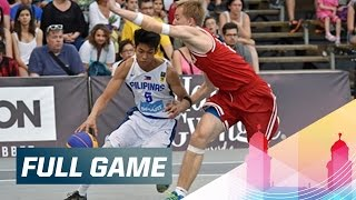Philippines v Russia - Full Game - 2015 FIBA 3x3 U18 World Championships