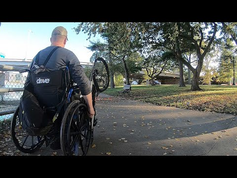 Fishing From My Wheelchair - Bank Fishing Tips And Tricks For Catfish & Carp