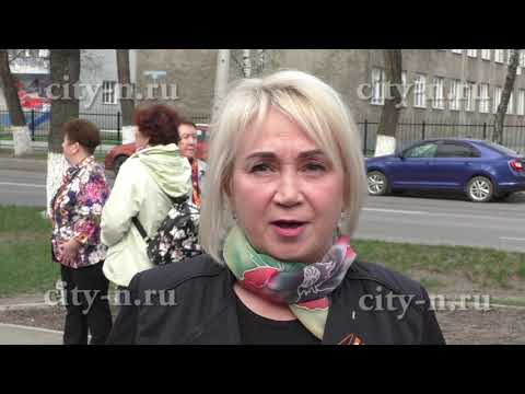 Сегодня в Новокузнецке сажают сирень