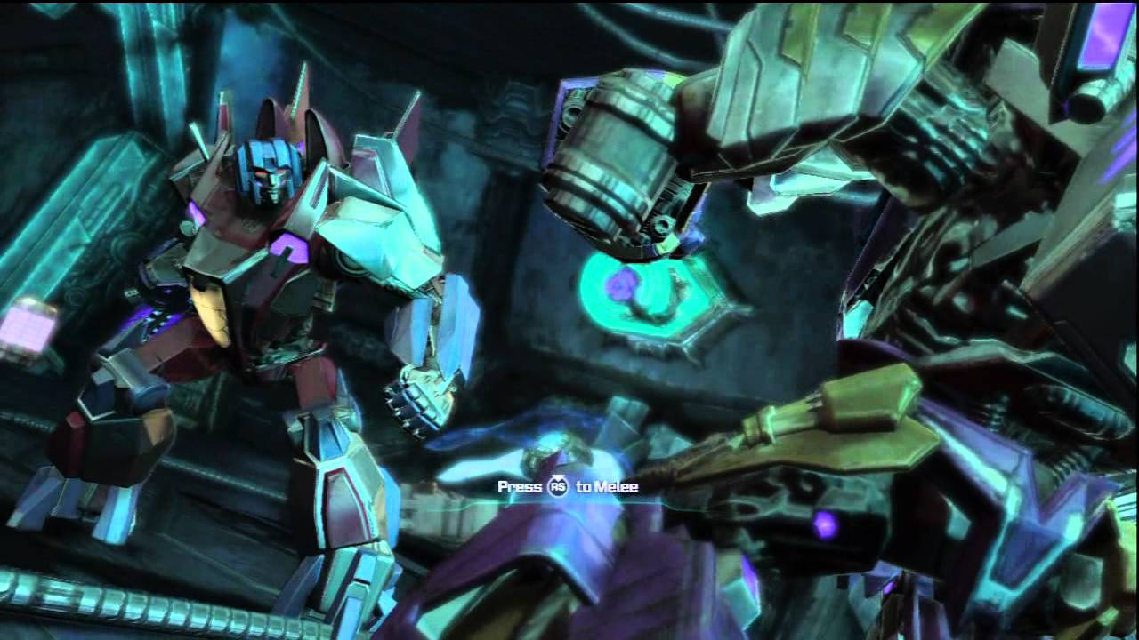 Starscream is the ultimate troll (Transformers: Fall Of Cybertron)