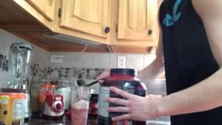 Adam's Mass Gainer Protein shake!