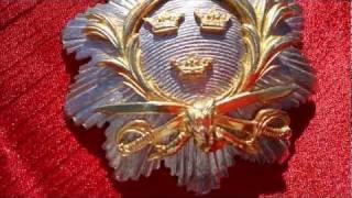 ww2 swedish military breast badge