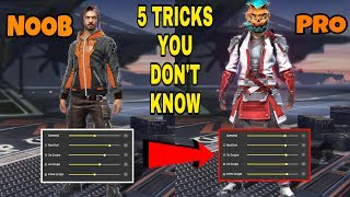 Free fire noob to pro player 5 tricks in tamil