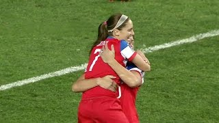 WNT vs. Costa Rica: Abby Wambach First Goal - Oct. 26, 2014
