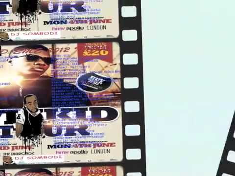 AFROBEATS MIX - wizkid uk tour 2012 promo mixtape by dj sombodi