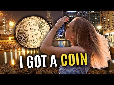 My first cryptocoin. Dubai Blockchain. Life in Jumeirah Lake Towers.