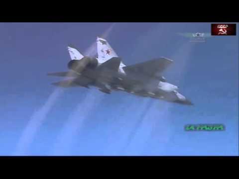 Russian MiG-31 - Fastest Supersonic Interceptor Aircraft