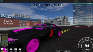 Roblox Vehicle Simulator Driving our own car!!!