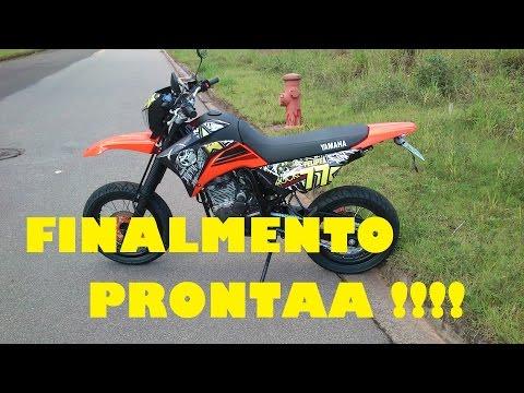 Yamaha XTZ-250 Lander 2016 Motard #FINALMENTE ESTA PRONTA