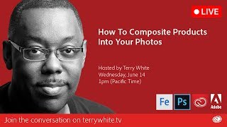 How to Composite Products into Your Photos with Adobe Photoshop CC | Educational