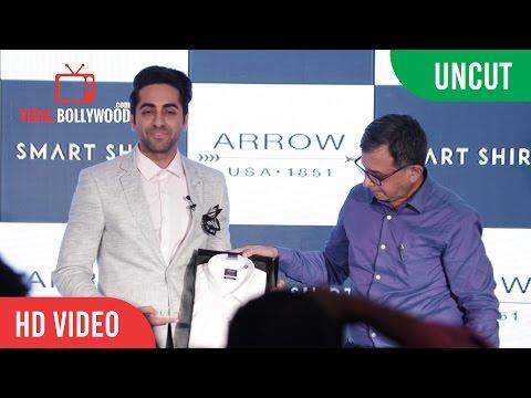 UNCUT - Arrow Smart Shirt Launch   Ayushmann Khurrana  