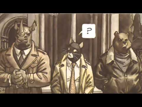 Blacksad Animated Comic