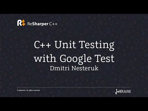 C++ Unit Testing with Google Test Tutorial
