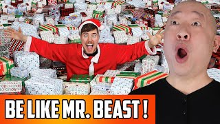 Mr Beast's Secret To Success On YouTube   Now He's Giving 10,000 Presents To People In Need!