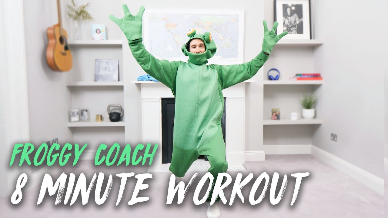 FROGGY COACH Active 8 Minute Kids Workout | The Body Coach TV