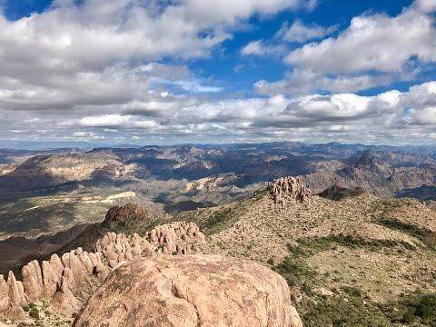 Flatiron and the Superstition Mountains - Phoenix, Arizona
