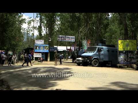 Amarnath Base camp at Pahalgam - Jammu and Kashmir