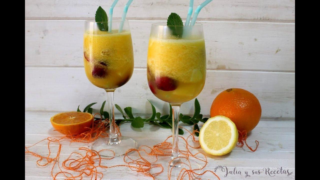 C mo hacer sorbete de naranja con fruta fresca receta - Como hacer sorbete de cava ...