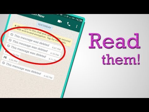 Read Deleted WhatsApp Messages with this Simple Trick!