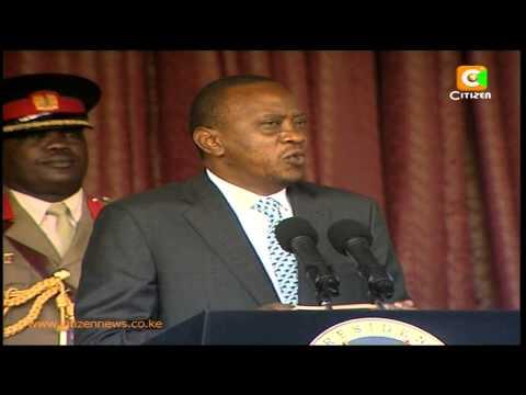 President Kenyatta Issues Stern Warning to Terror Groups