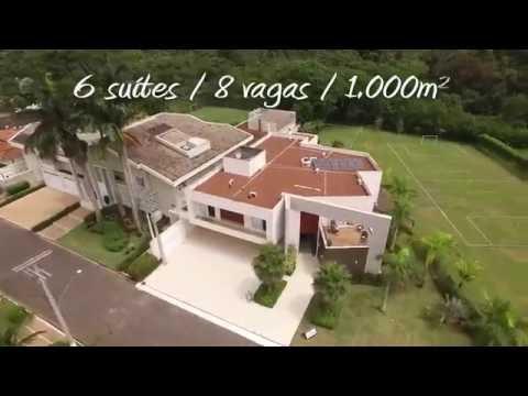 Youtube AGodoi Imóveis Capa: Casa Alto Padrão Condomínio Acapulco 1000m²