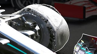 What Caused the Double Puncture at Mercedes?