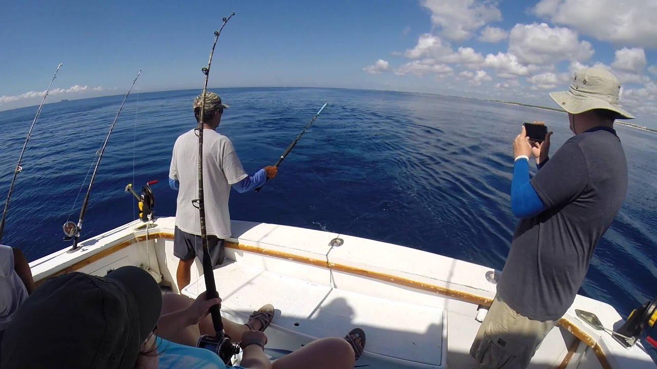 Deep sea fishing in the caribbean sea youtube for Deep sea fishing seattle
