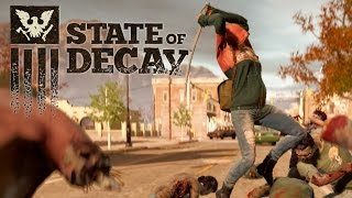 State of Decay: Year-One Survival Edition Exclusive Gameplay - First Look (Xbox One / PC)