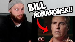 "Rugby Player Reacts to BILL ROMANOWSKI ""The Dirtiest Man In NFL History!"""