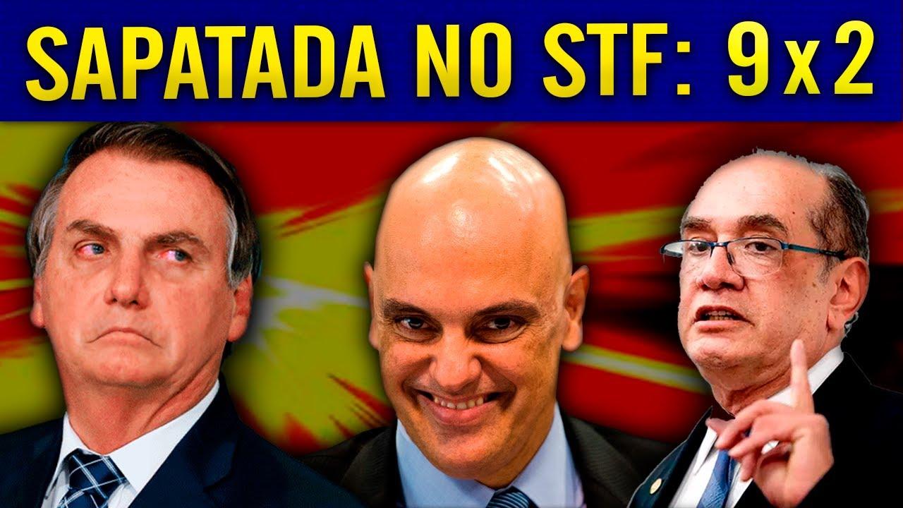 DIA DESASTROSO PRA B0LSONARO NO STF!!