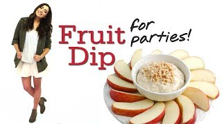 Fun And Easy Snack: Fruit Dip With Lauren Elizabeth #17daily
