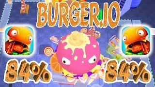 Burger.io Gameplay New Solo Record  84%   Ios | Android