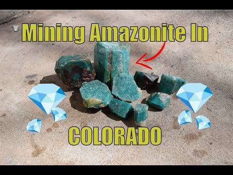 Mining Amazonite In Colorado (1 Day Workout)
