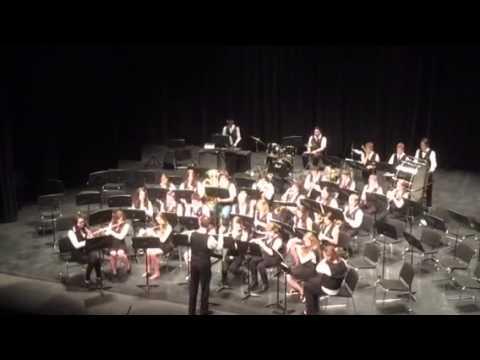 Floyd Dryden 8th grade band Rotary Music Festival  2015