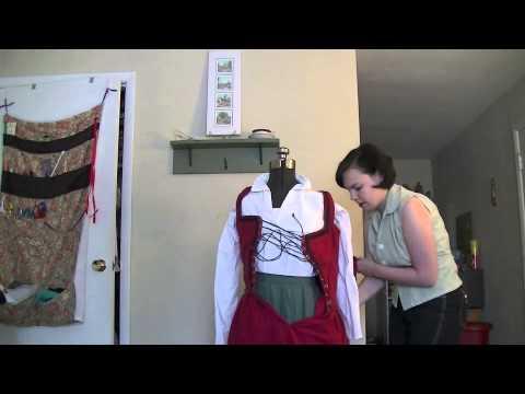 Dressing an Elizabethan Peasant