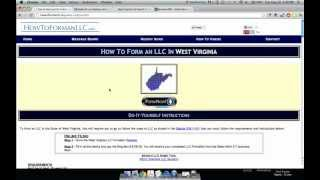 How to Form an LLC in West Virginia