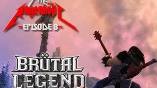 Brütal Legend Review - The Rageaholic