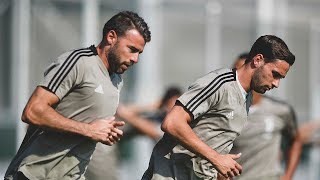 Juventus prepare for Sassuolo
