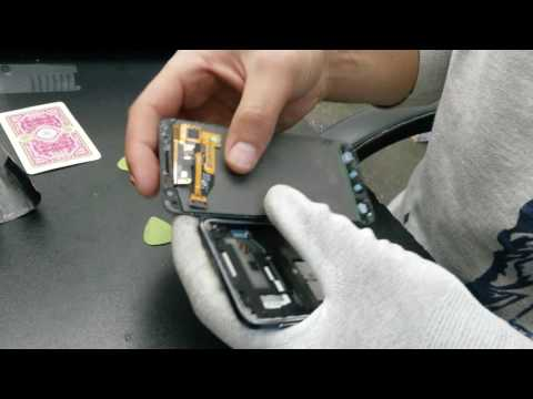 Samsung galaxy a3 a300f 2015 disassembly and assembly, charging sensors flex cable replacement