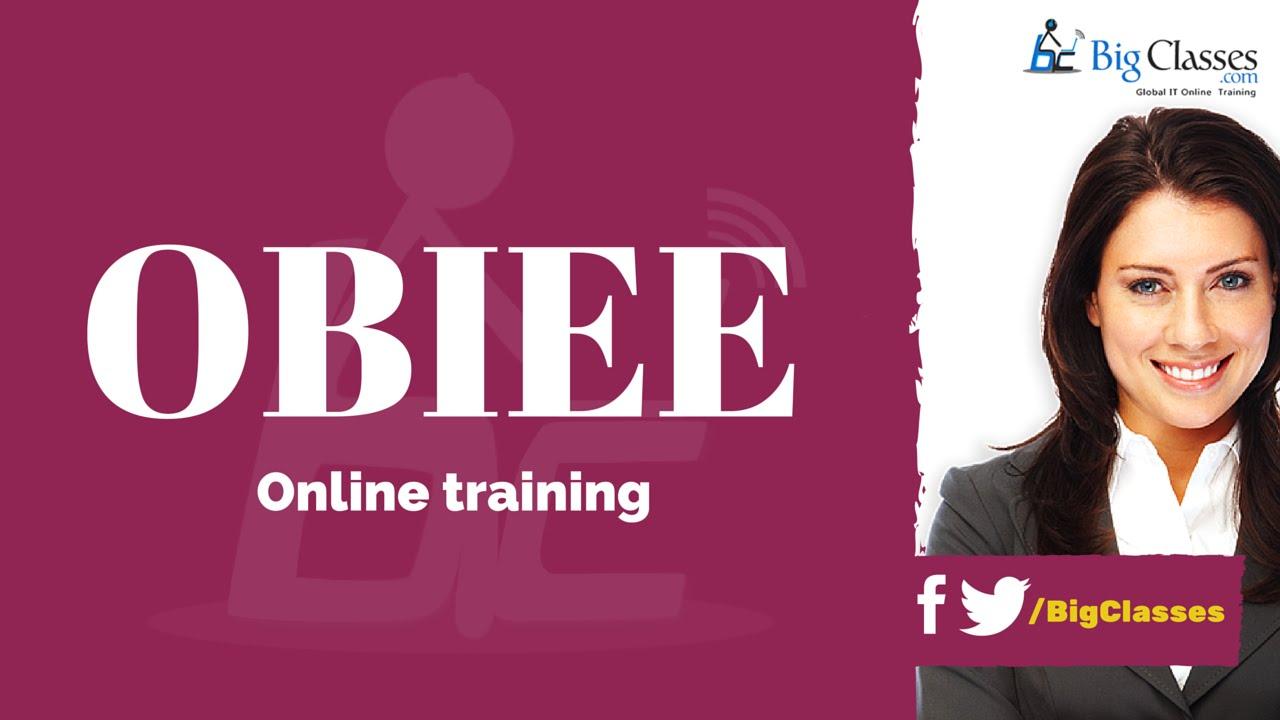 OBIEE Training - Oracle BI Tutorials for Beginners - Bigclasses