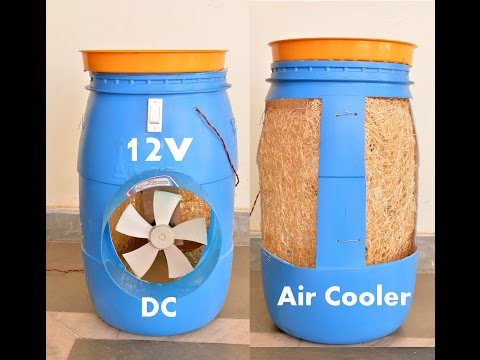 How to Make a Air Cooler at Home - Easy Way
