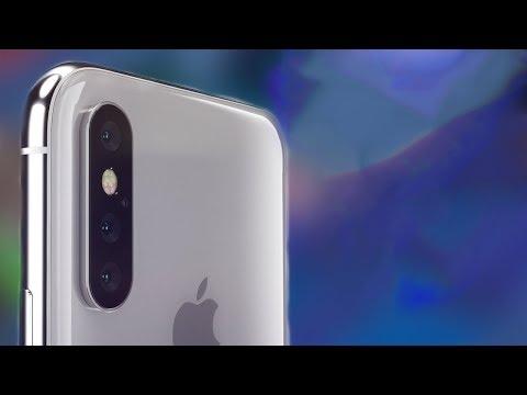 أيفون iPhone X PLus 2018  الجديد 😍 | قاهر الهواتف بتصميم مذهل و ثلاثلت كاميرات خلفية  🔥