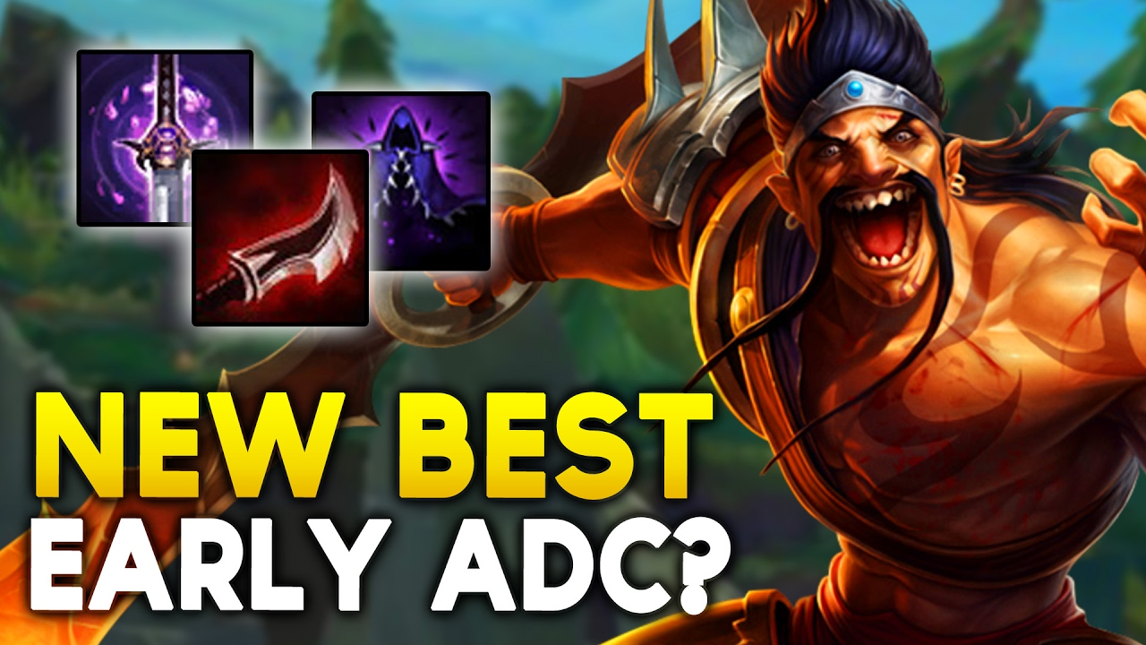 LETHALITY DRAVEN Best Early CARRY ADC Now? (League of Legends)