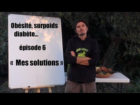 """Obésité, surpoids, diabète - Episode n°6 - """"Mes solutions"""" + recette de jus - www.regenere.org"""
