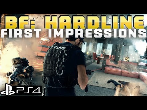 PS4 Battlefield Hardline Multiplayer Live Stream - BFH Gameplay Impressions