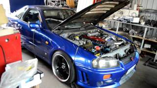 R34 RB26 To4z Dyno
