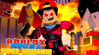 ROBLOX Adventure - ROPO IS A SUPER VILLAIN IN SUPERHERO LIFE 2!!