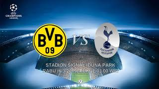 VIDEO - Live Streaming Borussia Dortmund vs Tottenham Hotspur, Leg ke 2 Babak 16 Besar Liga Champion